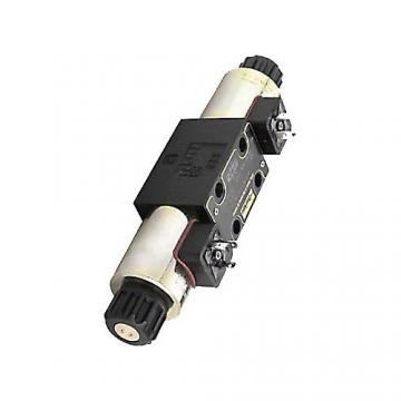 Distributeur hydraulique distributeur cetop 3 NG6 315 bar 80L/min 4/3 12VDC P->T